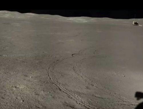 China reveals new PHOTOS of strange substance from dark side of the moon
